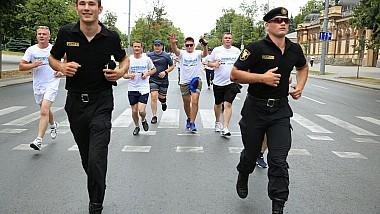 NU traficului de ființe umane. IGP a organizat un maraton în centrul Capitalei prin care vrea să sensibilizeze societatea față de această problemă