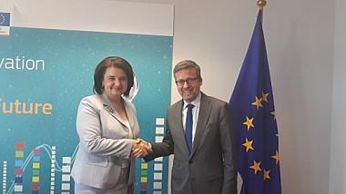 Progresele înregistrate în sistemul de cercetare și inovare din Moldova, apreciate la Bruxelles