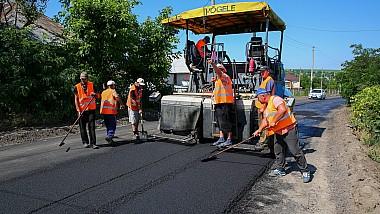 Mersul lucrărilor de reparaţie în cadrul proiectului Drumuri bune poate fi urmărit în regim real
