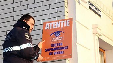 """Vecinul, cel mai sigur poliţist. Inspectoratul General de Poliţie a lansat campania de promovare a programului """"Supraveghere de vecinătate"""""""
