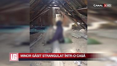 Descoperire macabră într-un pod al unei case părăsite. Un minor a fost găsit strangulat