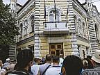 Susţinătorii liderului PPDA, Andrei Năstase, au organizat un protest împotriva deciziei judecătoriei Chişinău, care nu a validat alegerile locale