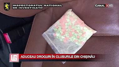 Cinci tineri aduceau droguri în cluburile din Capitală