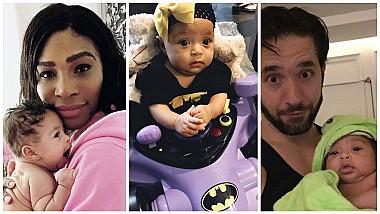 Populară din fașă! Fiica Serenei Williams la nici un an, are deja cont de Instagram