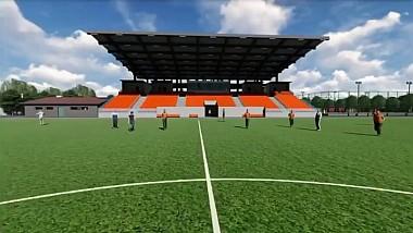 Stadionul municipal din Hânceşti în curând va putea concura cu arenele europene