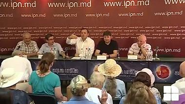 Scandal la conferinţa de presă organizată de PPDA, PAS şi PLDM