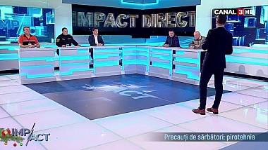 Impact - Precauți de sărbători:pirotehnia - 28 Decembrie 2018