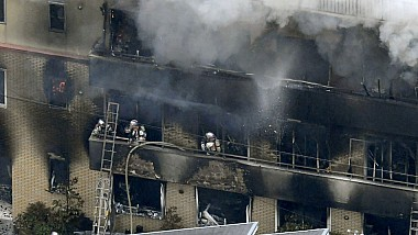 Ecoul tragediei din Kyoto. Bărbatul suspectat de provocarea incendiului susţine că a comis crima pentru că studioul de animaţie i-ar fi plagiat creația